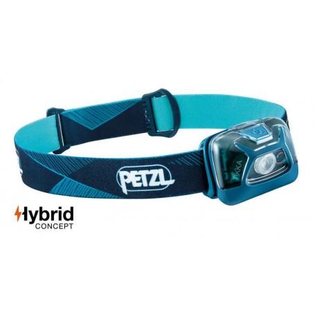 Petzl Tikkina Lampe frontale à batterie jusqu/'à 55 mètres d/'éclairage à distance nouveau
