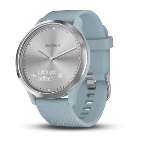Vivomove HR - Silver avec bracelet en silicone bleu