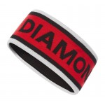 Bandeau Flagstaff Headband Black Diamond - Alloy/Hyper Red/Black