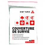 Couverture de survie Rescue Blanket 190g Arva