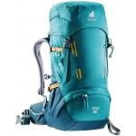 Sac à dos de randonnée enfant Fox 30 Deuter - Bleu pétrole/Bleu Arctique