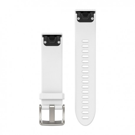 Bracelet Fenix 5S QuickFit 20 mm Garmin - Silicone blanc