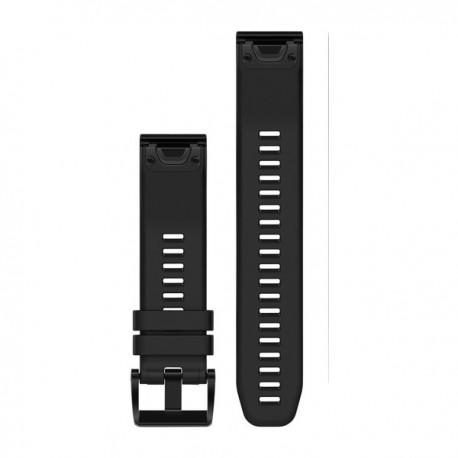Bracelet Fenix 5 QuickFit 22 mm Garmin - Silicone noir