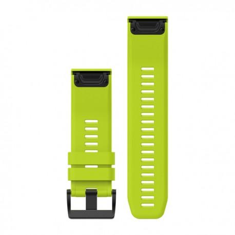 Bracelet Fenix 3 / Fenix 5X QuickFit 26 mm Garmin - Silicone jaune