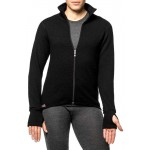 Veste / sous-vêtement Full Zip Jacket 600 Woolpower - noir