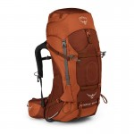 Sac de grande randonnée Aether AG 60 Osprey - outback orange