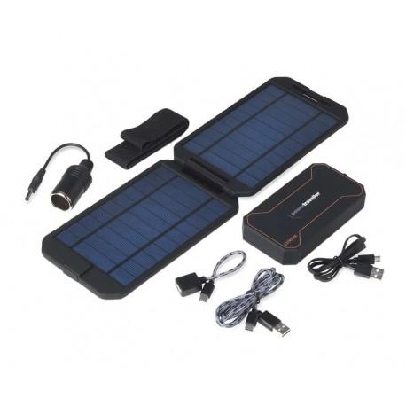 Chargeur de piles solaire chargeur solaire pour 4 piles AA
