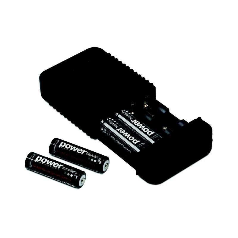 chargeur batterie 4 accus powerchimp 4a powertraveller. Black Bedroom Furniture Sets. Home Design Ideas