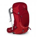 Sac de randonnée Stratos 50 2018 Osprey - rouge
