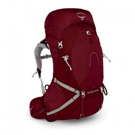 Sac de randonnée femme Aura AG 50 Osprey - Gamma Red