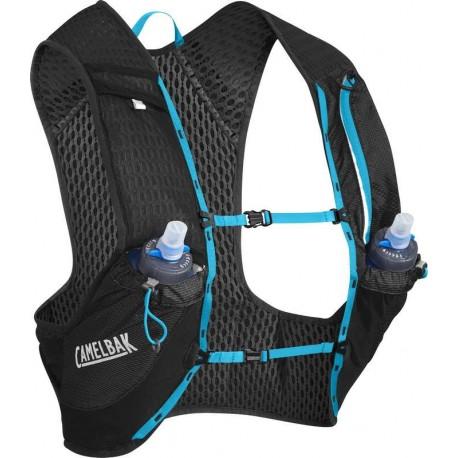 Gilet d'hydratation Nano Vest Camelbak - Black/Atomic Blue