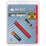 Lampe torche Solitaire Maglite - rouge