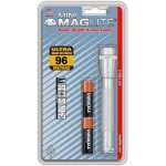 Lampe torche Mini AA Maglite - Argent