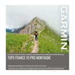 Carte IGN Topo France v5 Montagne Pro Garmin