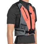 Gilet de marche nordique Guidetti - orange