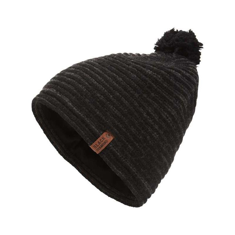 ... Bonnet en laine pour femme Dragontail Beanie Black Diamond - Smoke edbd63757d4