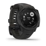 Montre GPS cardio militaire Instinct Garmin - Graphite Gray