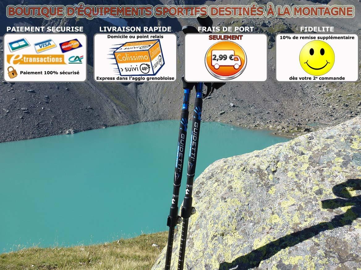 Equipements destinés à la montagne et aux sports outdoor